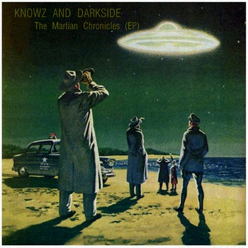 The Martian Chronicles (EP) cover art