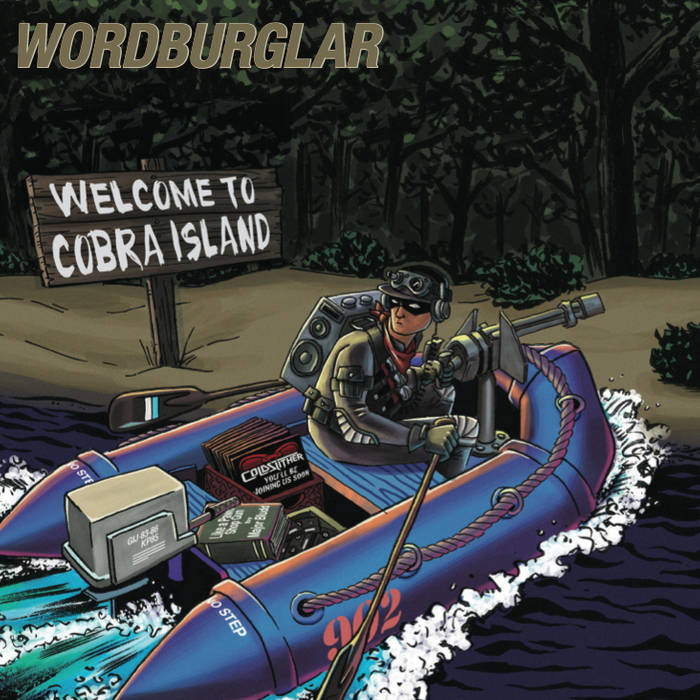 WELCOME TO COBRA ISLAND cover art