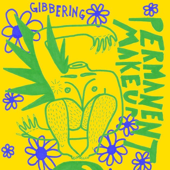 Gibbering 7inch cover art