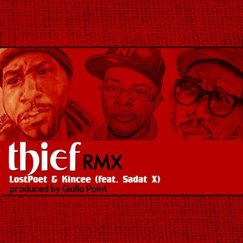 THIEF FT SADAT X cover art