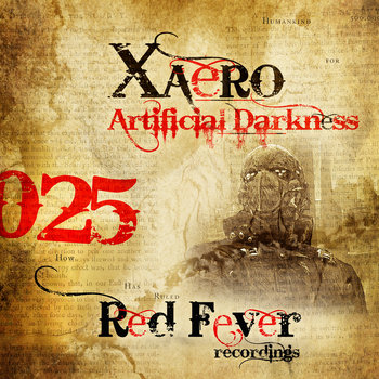 Xaero - Artificial Darkness cover art