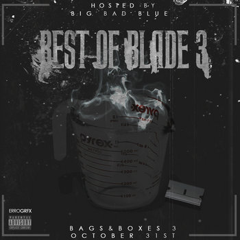 Best Of Blade 3 cover art