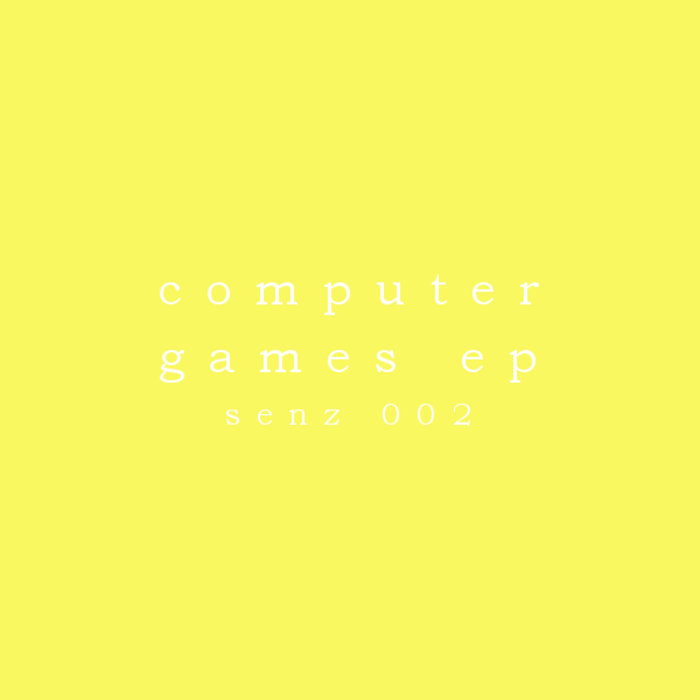 Computer Games EP cover art