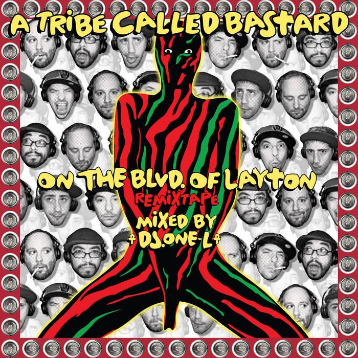 On the BLVD of Layton (remixtape) cover art