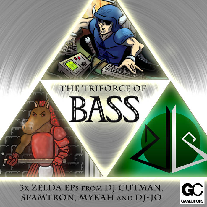 The TRIFORCE of BASS cover art