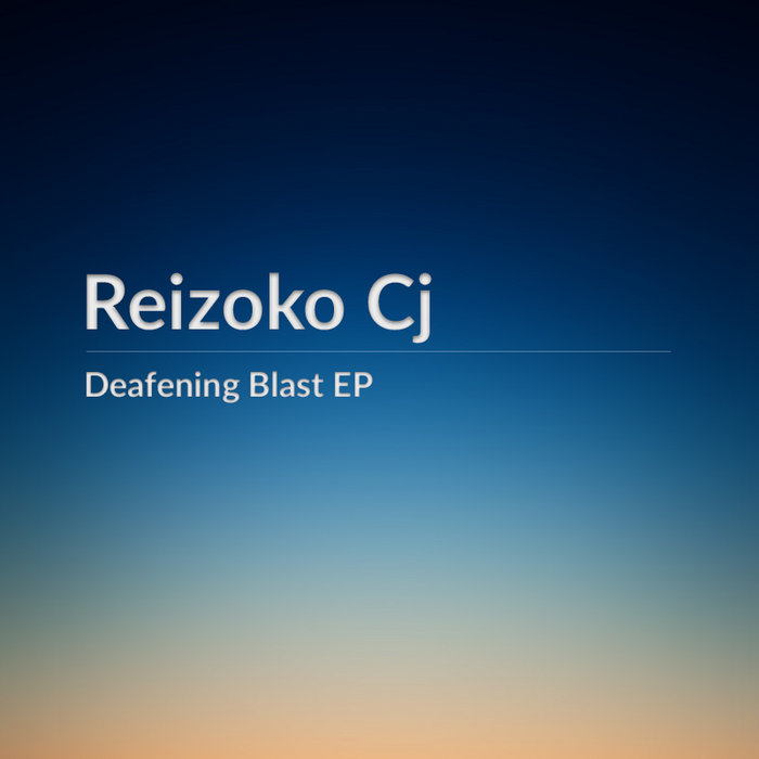 Deafening Blast EP cover art