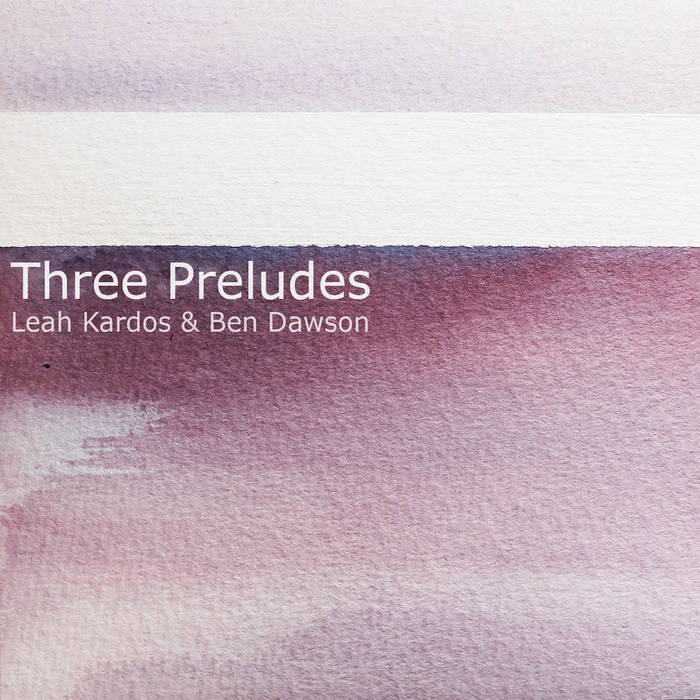 Three Preludes cover art