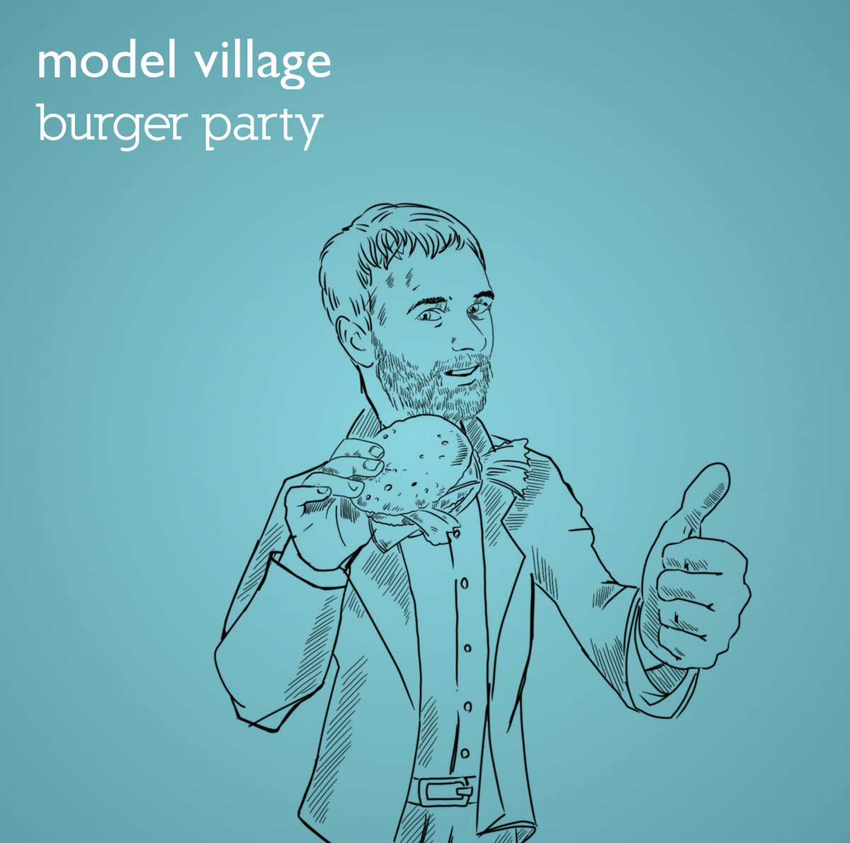 MODEL VILLAGE - BURGER PARTY EP (PXP034) - MAY 25TH