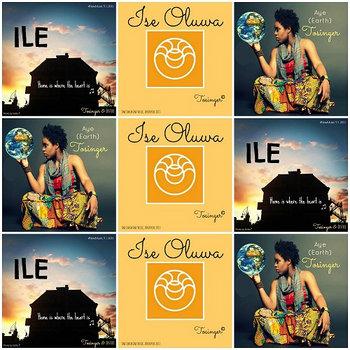 Ile, Ise Oluwa & Aye cover art
