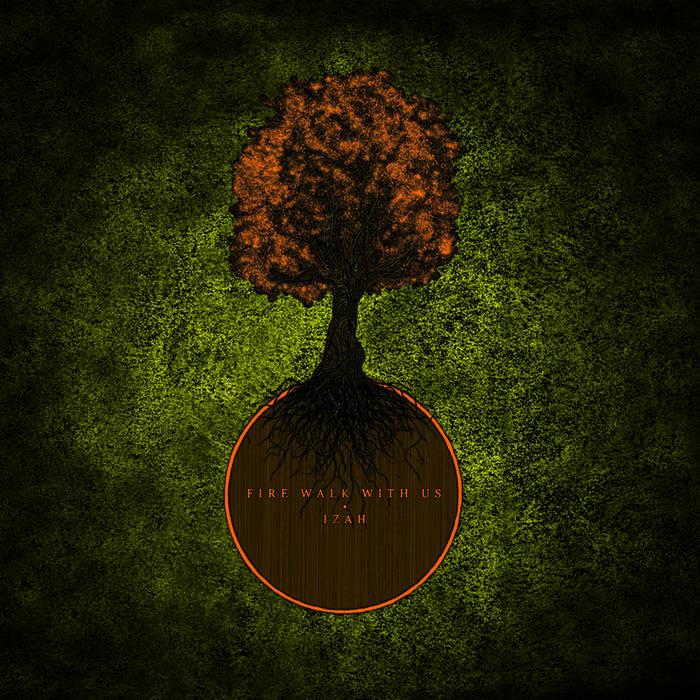 IZAH/Fire Walk With Us split EP cover art