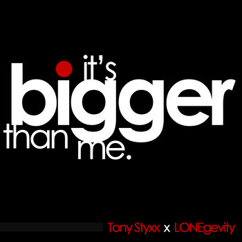 It's Bigger Than Me cover art
