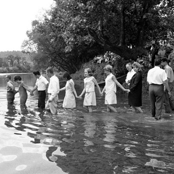 Down in the river to pray piedmont brothers band