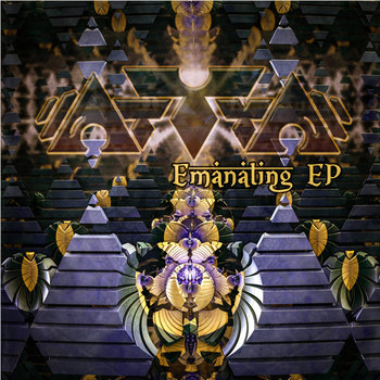 """Emanating"" EP cover art"