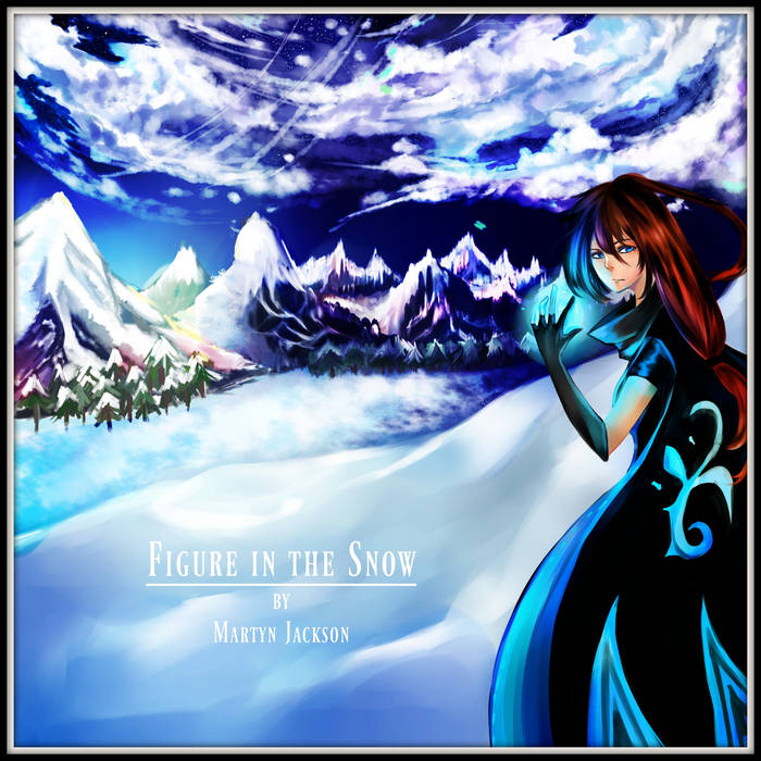 Figure In The Snow cover art