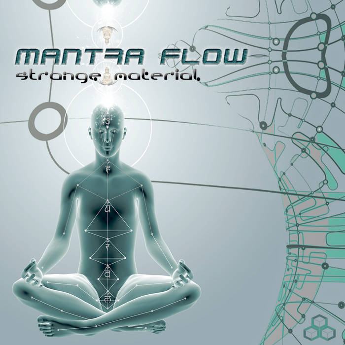 Mantra Flow - Strange Material LP cover art