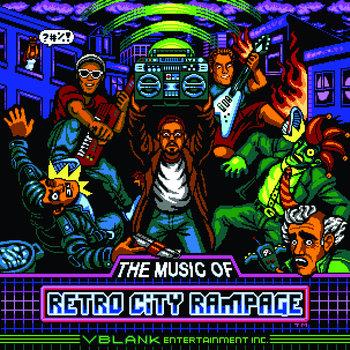 Retro City Rampage Soundtrack cover art