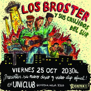 Los Broster y Sus Crujidos del Sur cover art