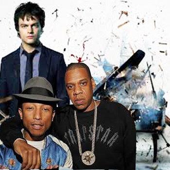 Frontin'- Pharrell meets Jamie cover art
