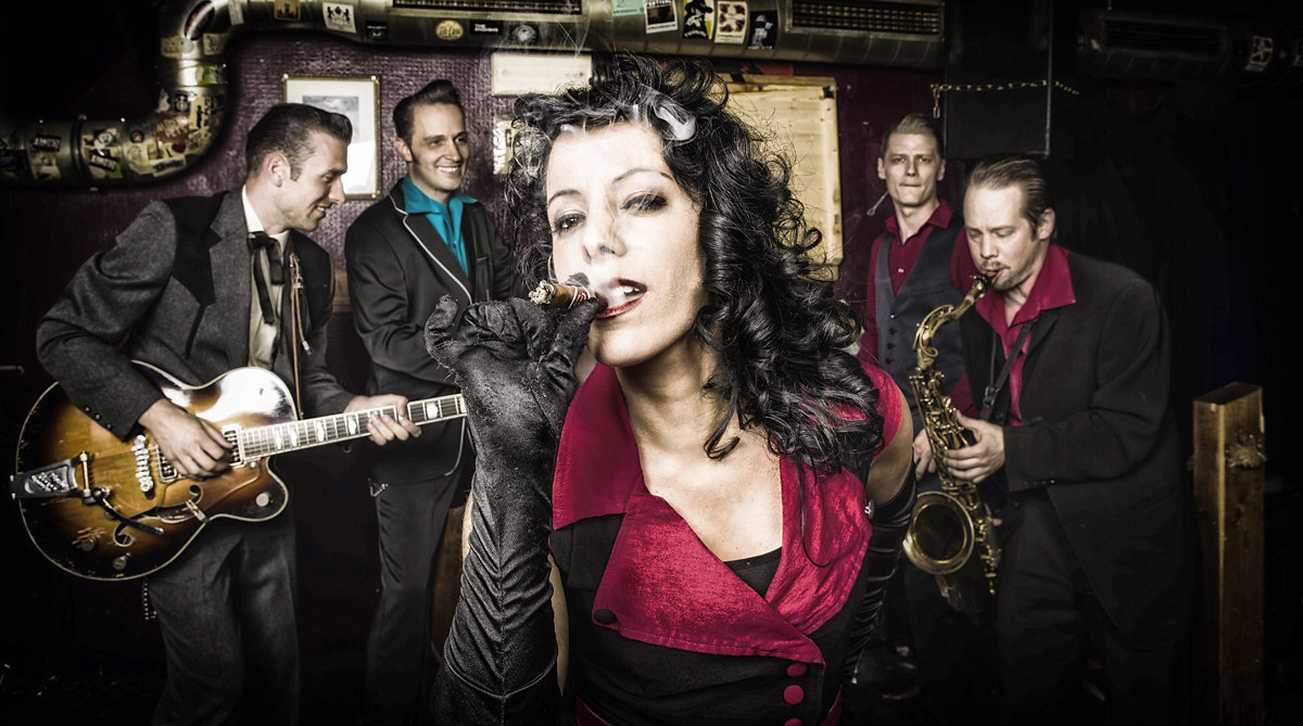 Rockabilly-Band Nina & The Hot Spots