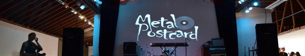 metal postcard - Deep (2015)