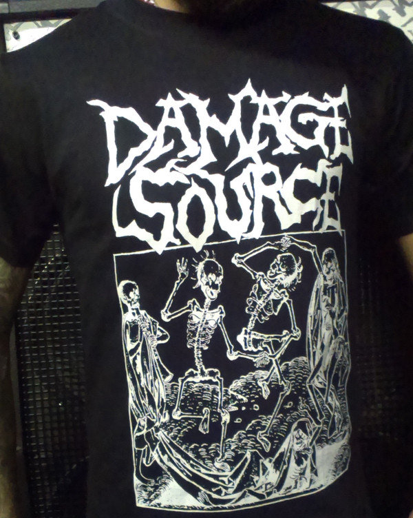 Damage Source T-shirt Heresy