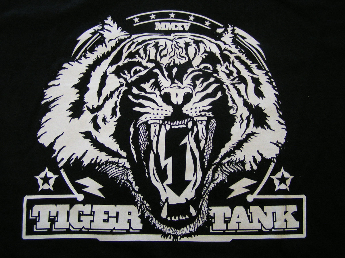 Tiger Tank Band Logo Shirt