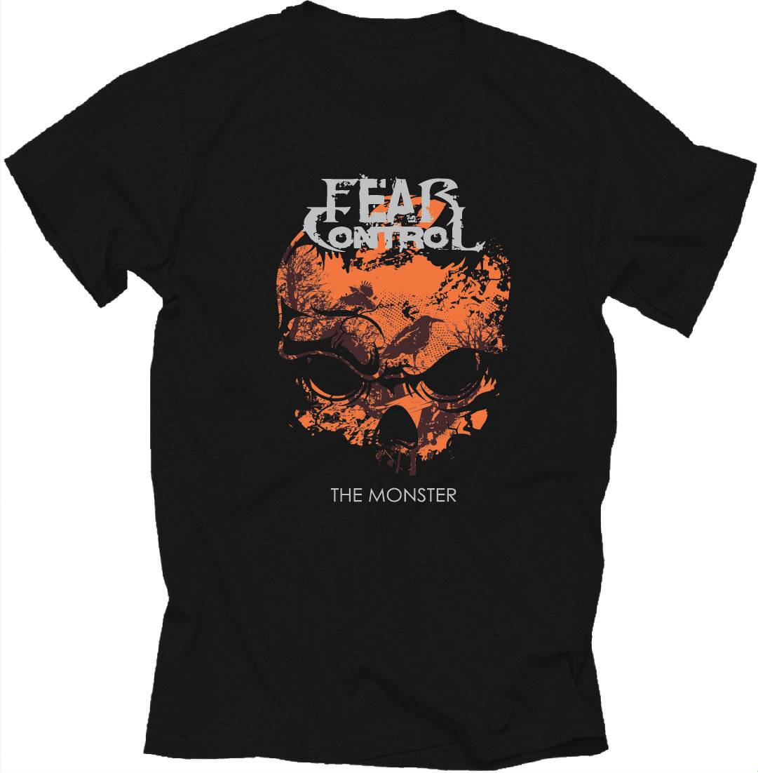 Fear Control T-Shirt. $15. Buy Now.