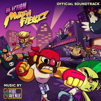 Big Action Mega Fight! OST cover art