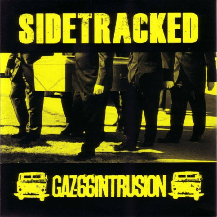 GAZ-66 Intrusion split 7in cover art