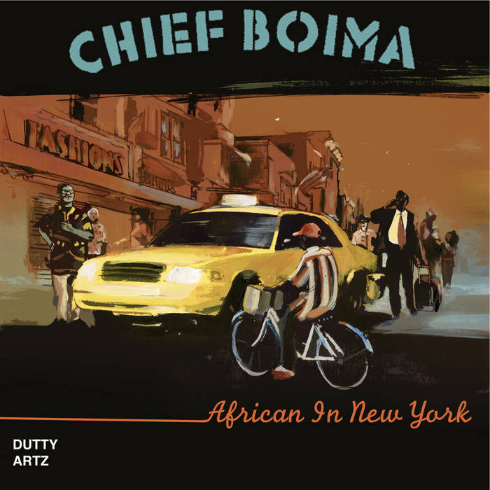 African In New York - EP cover art