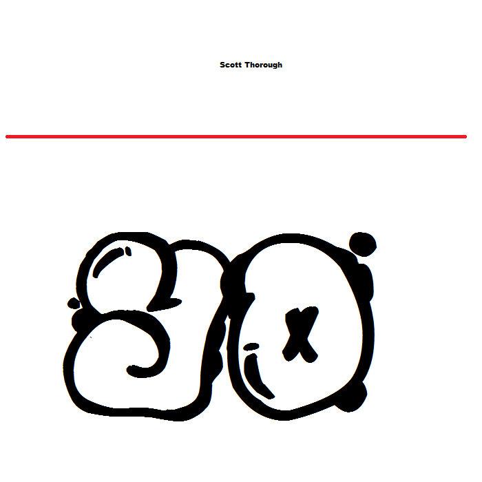 The Scott Thorough Remixes Album Cover
