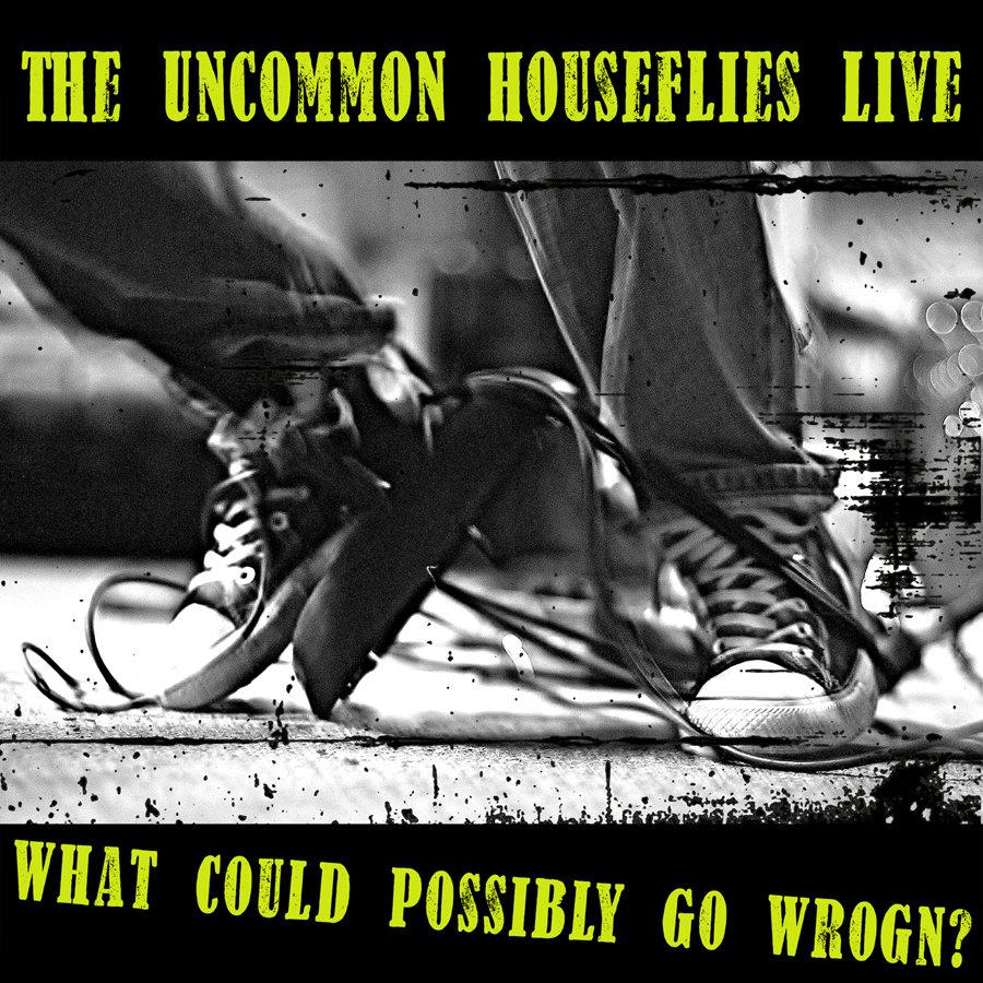 Uncommon Houseflies live album cover art