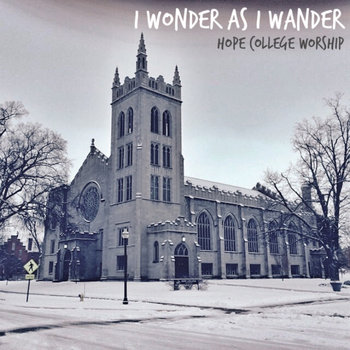 I Wonder as I Wander (Xmas Single) cover art
