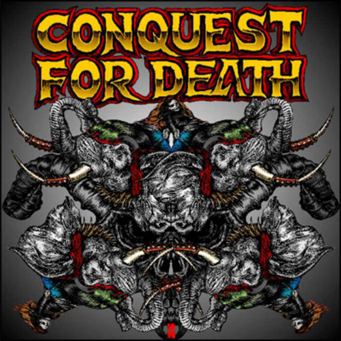 Conquest For Death EP cover art