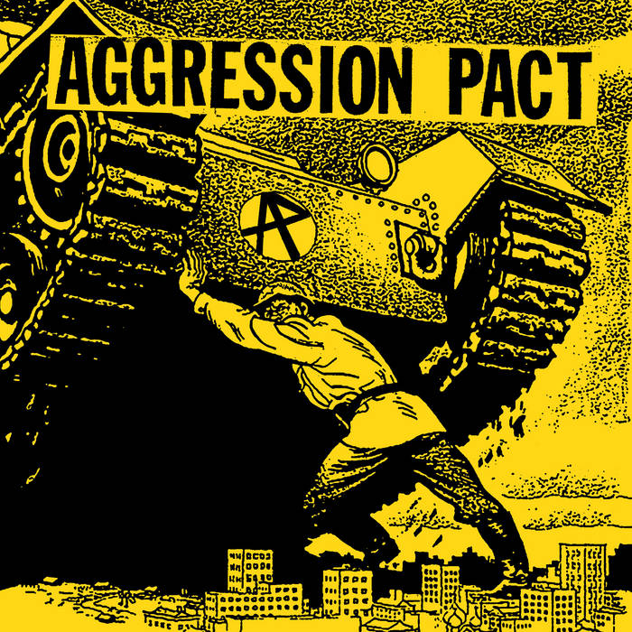 "PKR-058: Aggression Pact 7"" cover art"