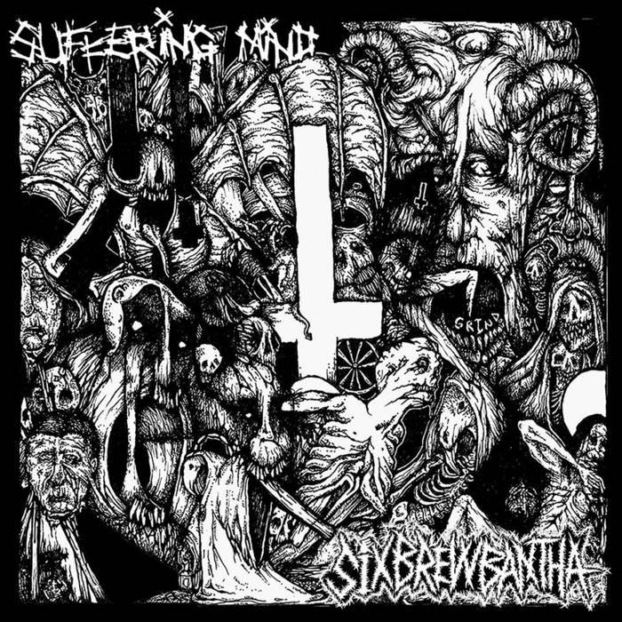 "split 7""with SIXBREWBANTHA cover art"