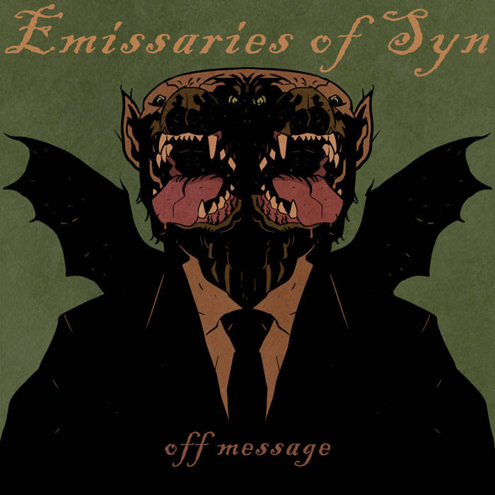 """Off-message"" EP cover art"