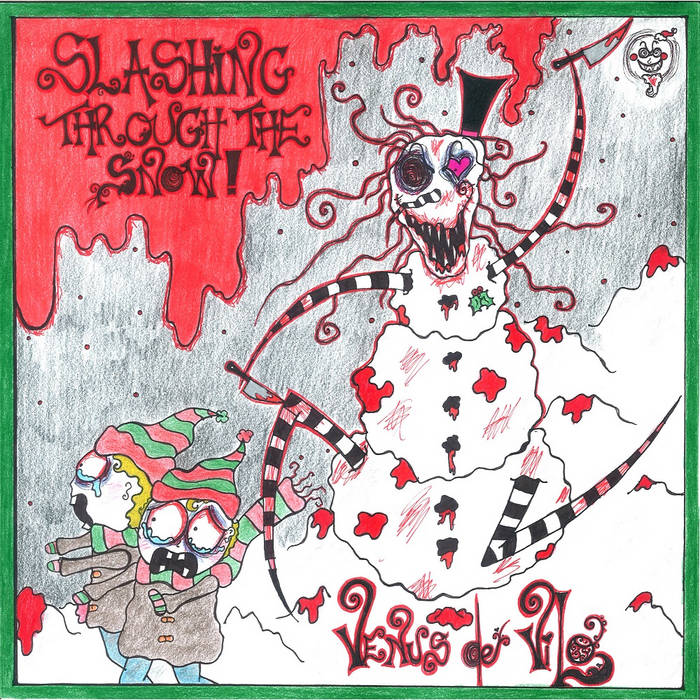 """SLASHING THROUGH THE SNOW"" ALBUM, COMIC BOOK AND ""KILLENDAR 2016"" cover art"