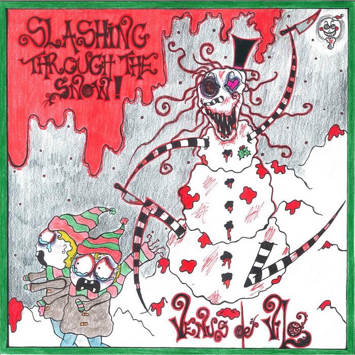 """SLASHING THROUGH THE SNOW"" ALBUM, COMIC BOOK AND ""KILLENDAR 2016"" cover art"