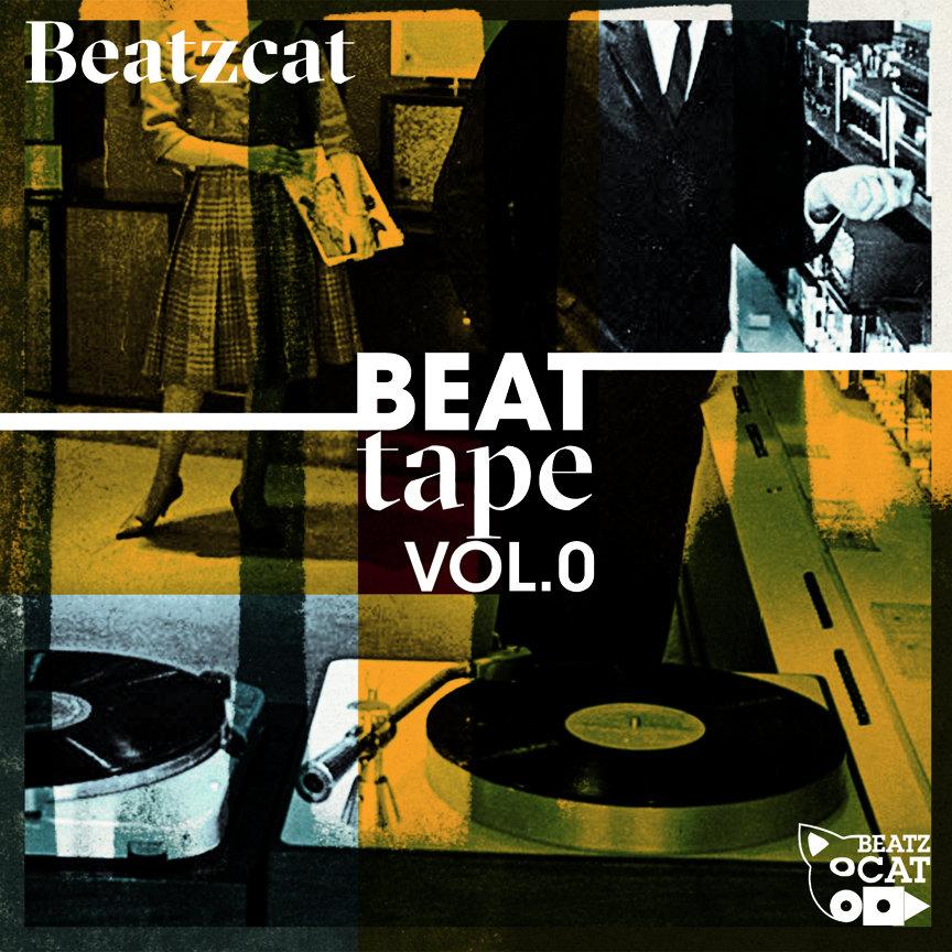 BeatZcat Beat Tape Cover