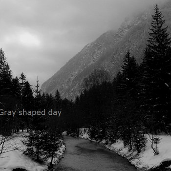 Gray shaped day cover art