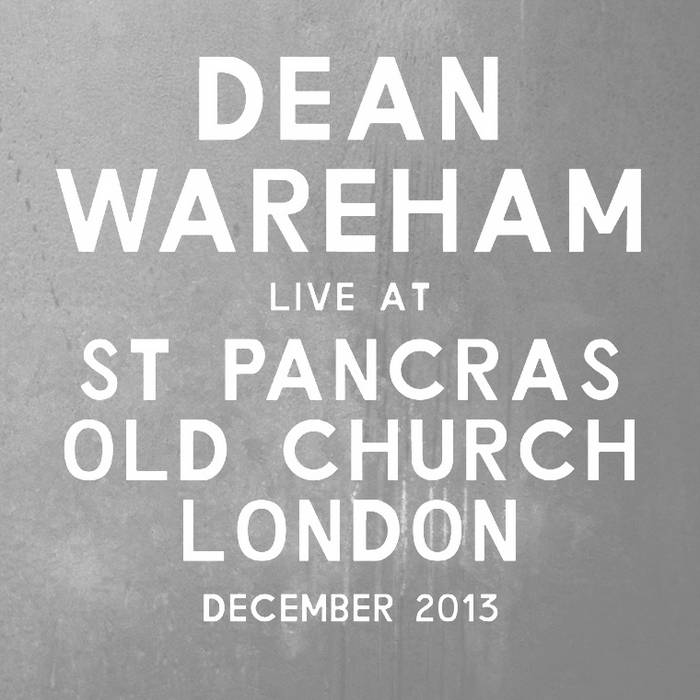 Live At St Pancras Old Church London December 2013 cover art