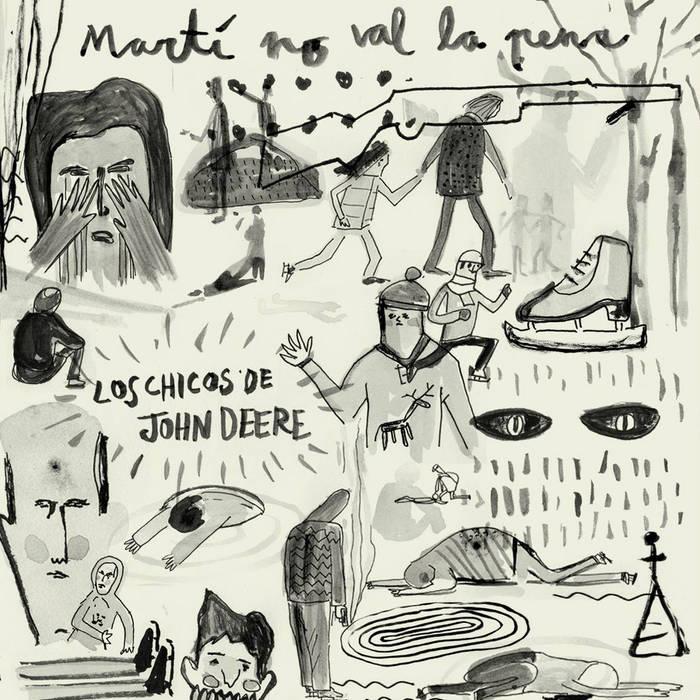 Martí no val la pena EP cover art