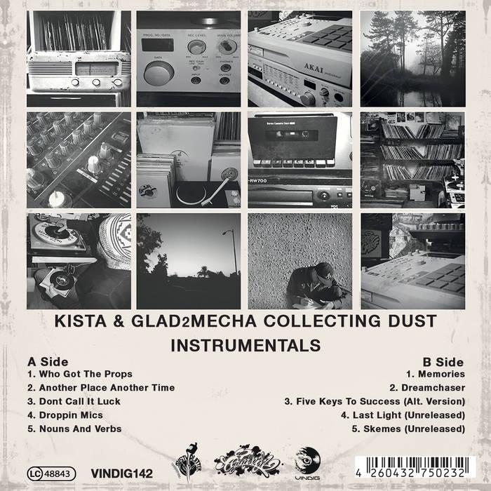 Kista & Glad2Mecha - Collecting Dust Instrumentals (2015)