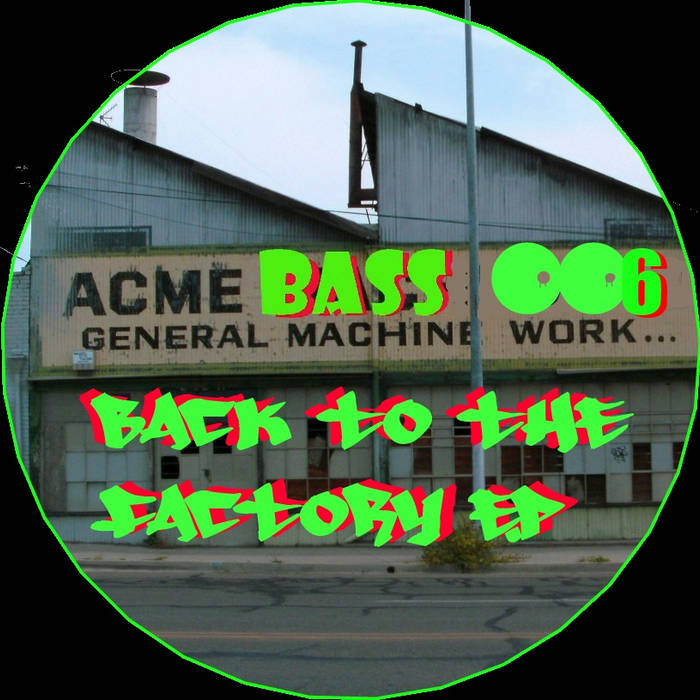 Back To The Factory E.P cover art