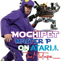 Master P on Atari MixTape cover art