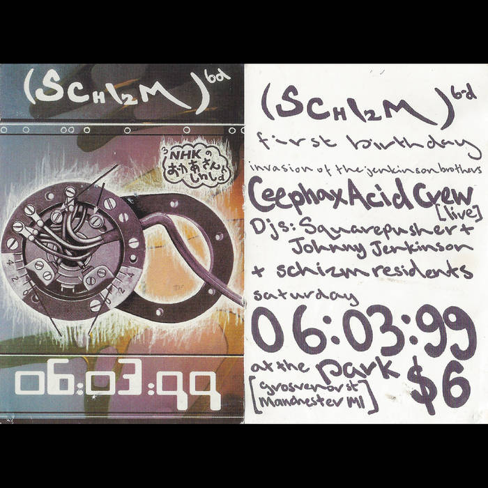 Ceephax Acid Crew Live at Schism, Manchester 06-03-99 cover art