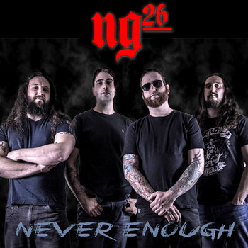 Alternative Metal band NG26 single release Not Enough