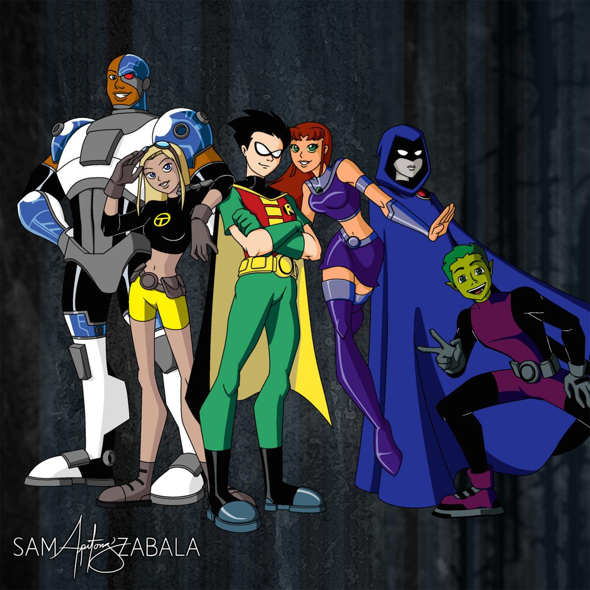 Teen Titans Theme 108