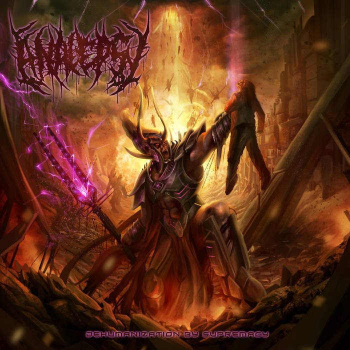 ANALEPSY | Dehumanization by Supremacy CD cover art